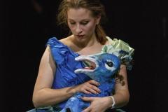 """Alice Fuder - """"Schaf"""", Junge Oper Stuttgart. Foto: Christoph Kalscheuer"""
